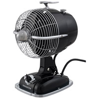 Urbanjet Mysterious Black 12 inch Portable Fan