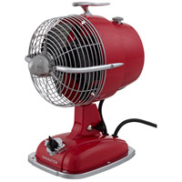 Fanimation FP7958SR Urbanjet Spicy Red 12 inch Table Fan