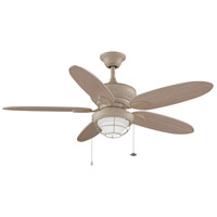 Fanimiation Kaya 1 Light Indoor Ceiling Fan in Washed Maple FP7963WM