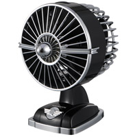 Urbanjet Mysterious Black 6 inch Desk Fan