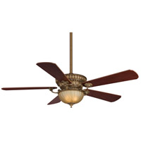 Fanimation Ventana Indoor Ceiling Fan in Sedona Beige with Mahohany/Walnut Blades FP8032SB
