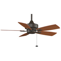 Fanimation Cancun Indoor Ceiling Fan in Oil-Rubbed Bronze with Cherry/Walnut Blades FP8042OB