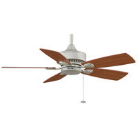 Fanimation Cancun Indoor Ceiling Fan in Satin Nickel with Cherry/Walnut Blades FP8042SN