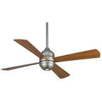 Fanimation Quattro Indoor Ceiling Fan in Satin Nickel with Cherry/Satin Nickel Blades FP8050SN