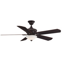 Fanimation FP8094DZ Camhaven v2 52 inch Dark Bronze with Cherry and Dark Walnut Blades Ceiling Fan