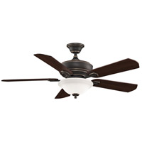 Fanimation Camhaven Indoor Ceiling Fan in Bronze Accent with Cherry/Walnut Blades FP8095BA alternative photo thumbnail