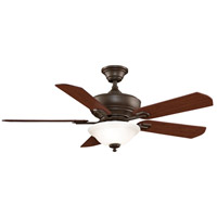 Fanimation Camhaven Indoor Ceiling Fan in Oil-Rubbed Bronze with Cherry/Walnut Blades FP8095OB