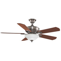 Fanimation Camhaven Indoor Ceiling Fan in Pewter with Cherry/Walnut Blades FP8095PW