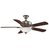 Fanimation Camhaven Indoor Ceiling Fan in Pewter with Cherry/Walnut Blades FP8095PW alternative photo thumbnail