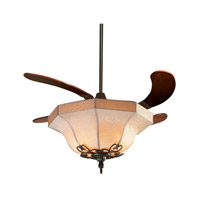 Air Shadow 21 inch Oil-Rubbed Bronze with Cherry Blades Ceiling Fan