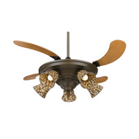Fanimation FP825OB Air Shadow 18 inch Oil-Rubbed Bronze with Cherry Blades Ceiling Fan