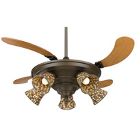 Fanimation Air Shadow Indoor Ceiling Fan in Oil-Rubbed Bronze with Cherry Blades FP825OB alternative photo thumbnail
