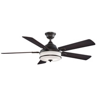 Fanimation FP8274DZ Stafford 52 inch Dark Bronze with Cherry and Dark Walnut Blades Ceiling Fan