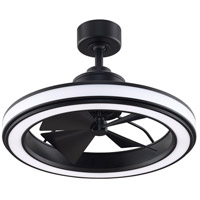 Fanimation FP8404BL Gleam 16 inch Black Ceiling Fan