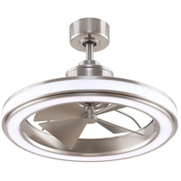 Fanimation FP8404BN Gleam 16 inch Brushed Nickel Ceiling Fan