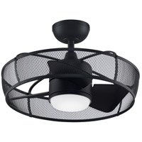 Fanimation FP8519BL Henry 20 inch Black Ceiling Fan