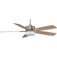 Fanimation Landan Indoor Ceiling Fan in Satin Nickel with Cherry/Maple Blades FPD8087SN alternative photo thumbnail