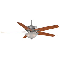 Fanimation Keistone Indoor Ceiling Fan in Pewter with Cherry/Walnut Blades FPD8088PW