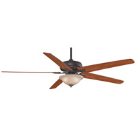 Fanimation Keistone Indoor Ceiling Fan in Bronze Accent with Cherry/Walnut Blades FPD8089BA