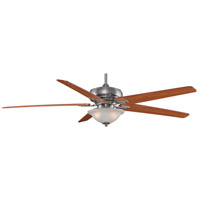 Fanimation Keistone Indoor Ceiling Fan in Pewter with Cherry/Walnut Blades FPD8089PW