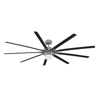 Odyn 84 inch Brushed Nickel Ceiling Fan