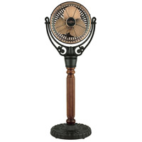 Fanimation Old Havana Pedestal Base Fan Accessory in Black FPH21BL