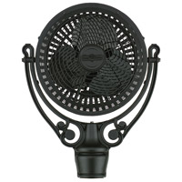 Old Havana Black Fan Motor Assembly, Base and Wall Mount Sold Separately