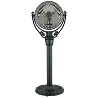Fanimation Old Havana Pedestal Column Fan Accessory in Black FPH70BL