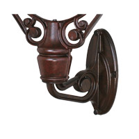 Old Havana 12 inch Rust Fan Wall Mount, Fan Motor Sold Separately