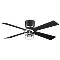 Fanimation Camview 1 Light Indoor Ceiling Fan in Black FPS6225BL