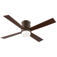 Fanimation Inlet Indoor Ceiling Fan in Oil-Rubbed Bronze with Cherry/Walnut Blades FPS7880OB