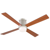 Inlet 52 inch Satin Nickel with Cherry/Walnut Blades Ceiling Fan
