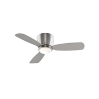 Embrace 44 inch Brushed Nickel Ceiling Fan