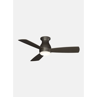 Fanimation FPS8332GRW-220 Hugh 44 inch Matte Greige Ceiling Fan