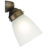 Signature Frosted 2 inch Glass Shade in White Frosted Ribbed