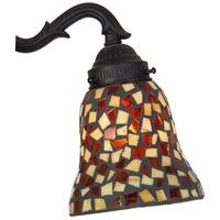 Glass Amber/Brown Mosaic Lights