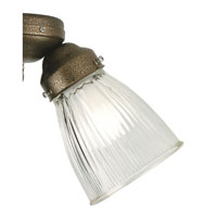 Fanimation G100C Signature Clear 2 inch Glass Shade in Clear Ribbed alternative photo thumbnail