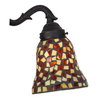 Fanimation G226 Signature Amber and Brown Mosaic 2 inch Glass Shade alternative photo thumbnail