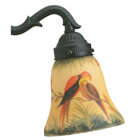 Fanimation G239 Glass Hand-Painted Parrot Lights alternative photo thumbnail