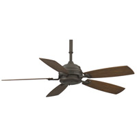 Fanimation Hubbardton Indoor Ceiling Fan in Bronze with Coffee Blades HF6050BZ