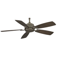 Fanimation Hubbardton Indoor Ceiling Fan in Dark Smoke with Slate Blades HF6050DS