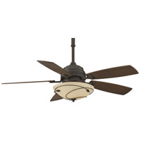 Fanimation Hubbardton Indoor Ceiling Fan in Bronze with Coffee Blades HF6200BZ