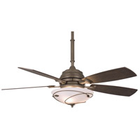 Fanimation Hubbardton Indoor Ceiling Fan in Dark Smoke with Slate Blades HF6200DS