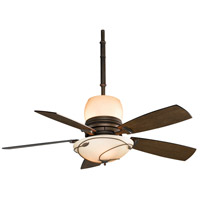 Fanimation Hubbardton Indoor Ceiling Fan in Bronze with Coffee Blades HF7200BZ