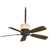Fanimation Hubbardton Indoor Ceiling Fan in Bronze with Coffee Blades HF7240BZ