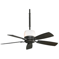 Hubbardton 9 inch Dark Smoke with Slate Blades Ceiling Fan