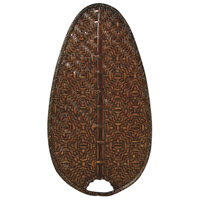 Fanimation Isle Bamboo Narrow Oval 22in Blade Set in Antique ISD4A