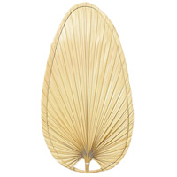 Signature Natural 22 inch Set of 5 Fan Blade in Natural Palm