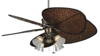 Fanimation Traditional Fitter Fan Light Kit in Rust F404RS alternative photo thumbnail
