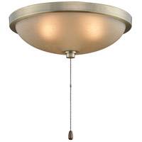 Fanimation Low Profile Bowl Fan Light Kit in Antique Brass LK114AAB